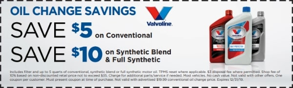 NTB Oil Change Discount